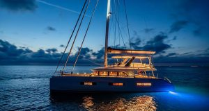 Lagoon's latest sailing catamaran, the Sixty 5 ©Nicolas Claris
