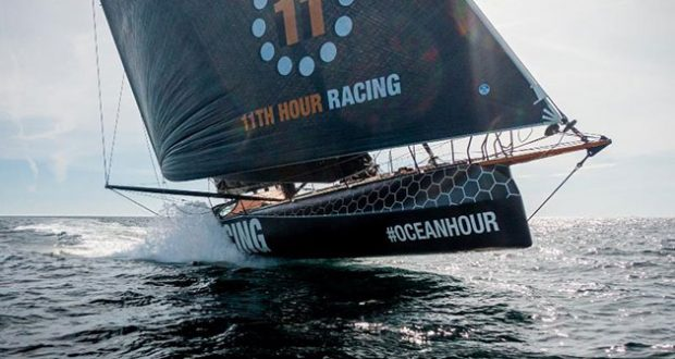 11th Hour Racing Team returns to the water to train in Brittany, France before heading to Newport. © Amory Ross / 11th Hour Racing
