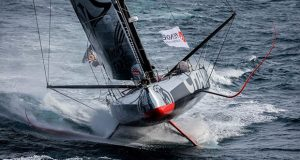 Charal leads the Vendée-Arctique-Les Sables d'Olonne Race © Gauthier Lebec / Charal