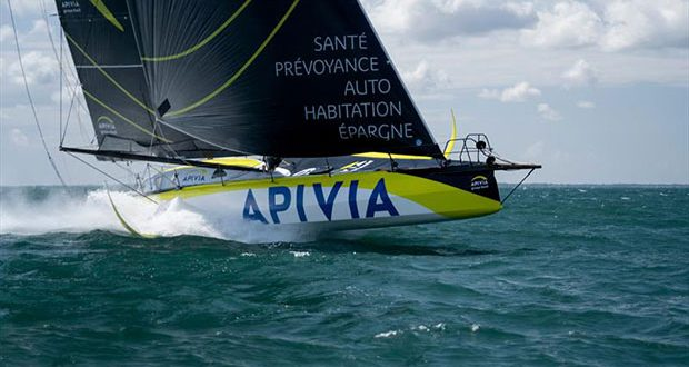 Apivia during the Vendée-Arctique-Les Sables d'Olonne Race © Maxime Horlaville / Disobey / Apivia