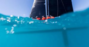 On and under water with Back in Black - Airlie Beach Race Week, day 3 - photo © Andrea Francolini / ABRW