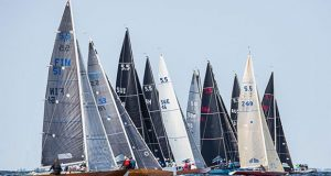 5.5 Metre racing always close and competitive - 5.5 Metre World Championship 2019 © Robert Deaves