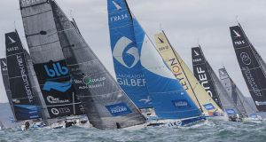 La Solitaire du Figaro 2020 Leg 1 start - photo © Alexis Courcoux