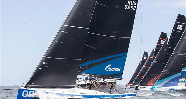 TP52 racecourse action at the 52 Super Series Cape Town event, March 2-6, 2020 © Image courtesy of 52 Super Series