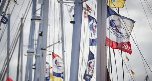 ARC Rally flags flying before the start. - photo © World Cruising Club / James Mitchell