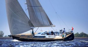 Contest 55CS sailing © Contest Yachts