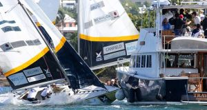70th Bermuda Gold Cup and 2020 Open Match Racing Worlds final day ©Charles Anderson / RBYC