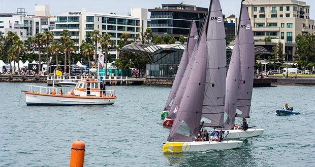 Sailing Champions League - Southern Qualifer view from Geelong's Cunningham Pier © Beau Outteridge