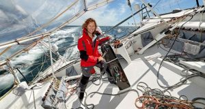 Isabelle Joschke, skipper MACSF - photo © Thierry Martinez / www.thmartinez.com