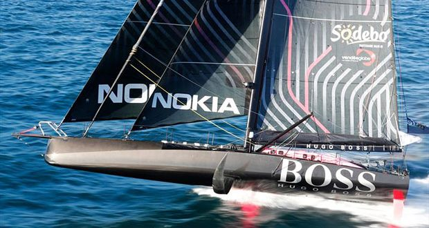 Vendée Globe race start - photo © Lloyd Images / Alex Thomson Racing