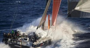 InfoTrack will be hoping for heavy, blast reaching conditions to defeat her nimbler rival Black Jack © ROLEX / Studio Borlenghi