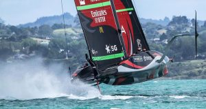Te Rehutai, Emirates Team New Zealand - January 11, 2020 - Hauraki Gulf - America's Cup 36 - photo © Richard Gladwell / Sail-World.com