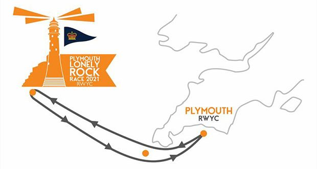 Plymouth Lonely Rock Race 2021 © RWYC