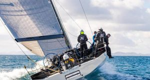 IRC56 Black Pearl, sailed by Stefan Jentzsch retires from the RORC Transatlantic Race © James Mitchell / RORC