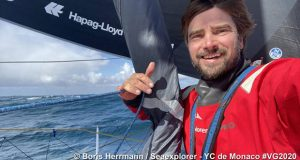 Boris Herrmann on Seaexplorer - Yacht Club de Monaco in the Vendée Globe © Boris Herrmann / Seaexplorer - YC de Monaco #VG2020