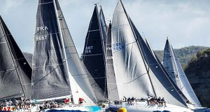 Starting Sequence of the English Harbour Rum Race Day in 2018 - photo © Paul Wyeth / www.pwpictures.com