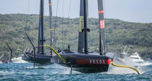 Prada Cup Final Day 4: Ineos Team UK and Luna Rossa Prada Pirelli ©COR36 / Studio Borlenghi