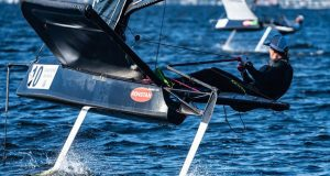 Australian Moth Nationals at Wangi RSL Amateur Sailing Club ©Beau Outteridge