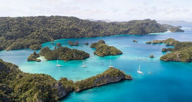 Vava'u group of islands © Oyster Yachts