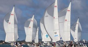 A strong fleet of Farr MRX contested this years NZ Open Keelboat Nationals. © Royal New Zealand Yacht Squadron