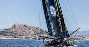 The finish of Leg Two of The Ocean Race Europe, from Cascais, Portugal, to Alicante, Spain. - photo © Sailing Energy / The Ocean Race