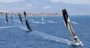 Start of the Third Leg of The Ocean Race Europe, from Alicante, Spain, to Genoa, Italy. © Sailing Energy / The Ocean Race