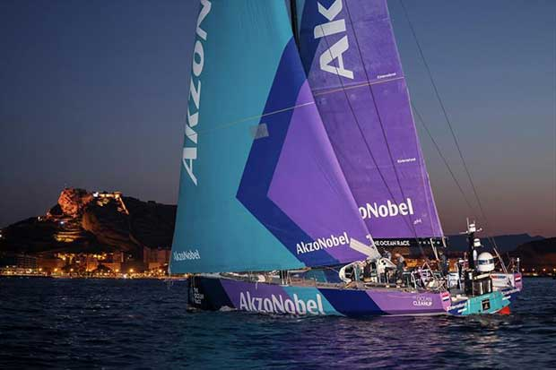 AkzoNobel - The finish of Leg Two of The Ocean Race Europe, from Cascais, Portugal, to Alicante, Spain. - photo © Sailing Energy / The Ocean Race