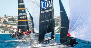 JJ Giltinan Championship - Sydney Harbour - January 2020 © 18 footers TV