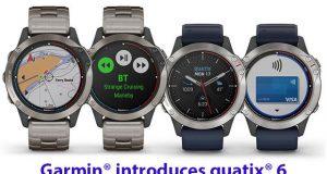 Garmin® quatix® 6 marine GPS smartwatch series © Kathryn Morrell