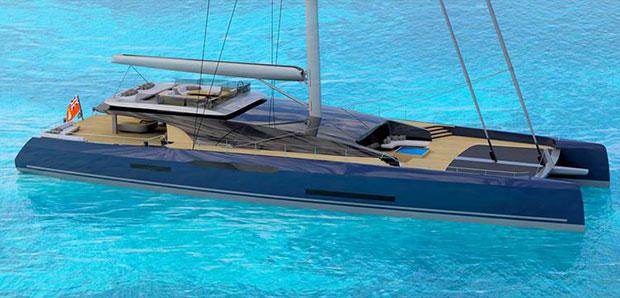 Sunreef MM 460 CAT ©Sunreef Yachts