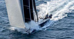 Black Jack blasting south after the 2019 Rolex Sydney Hobart Yacht Race start © Rolex / Kurt Arrigo