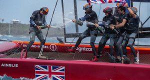Great Britain SailGP Team win Bermuda SailGP presented by Hamilton Princess © Bob Martin for SailGP