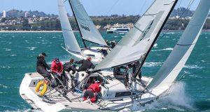 Sally Garrett 2020 - Melinda Henshaw - 2020 NZ Womens Keelboat Nationals © Andrew Delves/RNZYS