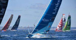 IMOCA fleet © Christophe Favreau / Défi Azimut