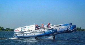 Hydro Motion Boat ©TU Delft Solar Boat Team