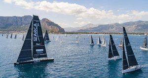 The 2021 Palermo-Montecarlo fleet sets sail - Palermo-Montecarlo race © CVS   Studio Borlenghi